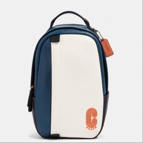 Coach Handbags - Coach Edge Pack In Colorblock